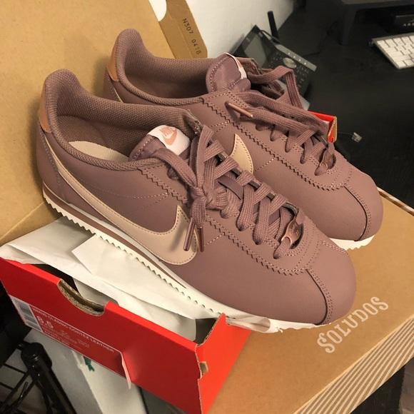 Nike Shoes   Mauve Nike Cortez   Poshmark
